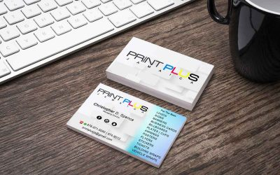 Graphics Designer business card design and mockup