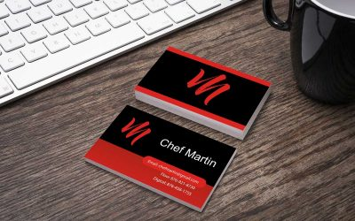 Chef's business card
